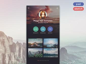 Travel App Profile